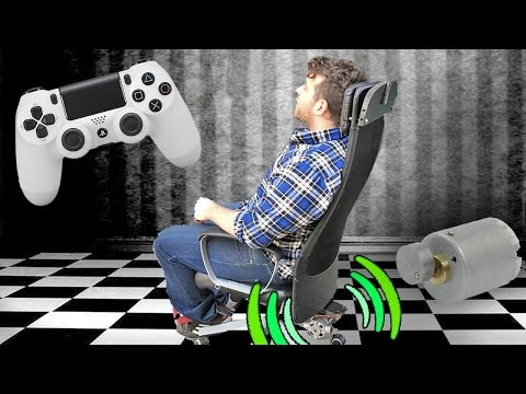 Gaming Chair - Shock Feedback • Do it Yourself !!!