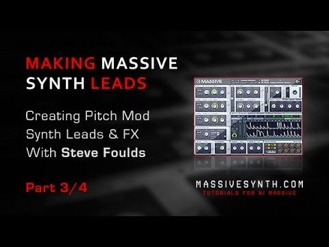Massive Dubstep Screech Synth Leads & FX - Part 3/4