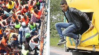 How illegal immigrants enter the UK