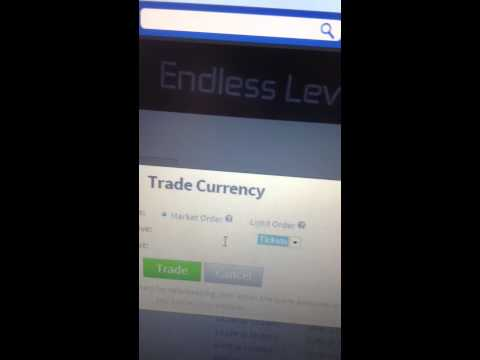 How to use trade currency on roblox (Market Order.Turning tix to robux)