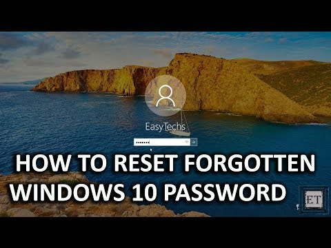 Windows 10 - How to Reset Your Forgotten Windows 10 Password For Free (2018)