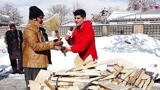 Download گزارش ویژۀ همایون افغان از نقاط مختلف شهر کابل در رابطه به برف باری🌨❄☃⛄🌬 Video