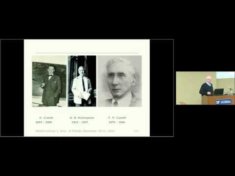 A Short History of Empirical Distributions and Empirical Processes