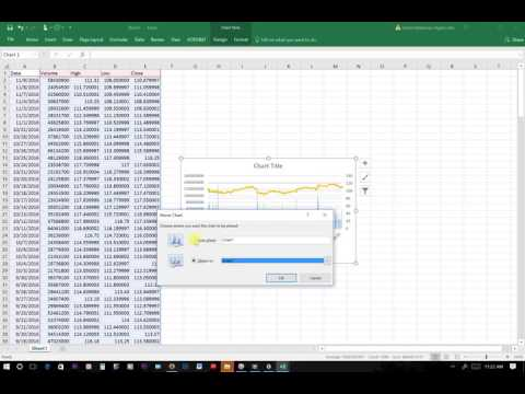 How to Create a High-Low-Close  Stock Graph in MS Excel