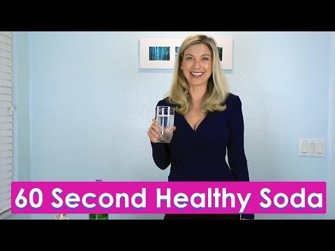 Sugar Free Lemon Soda Recipe (12 Calories per Serving)