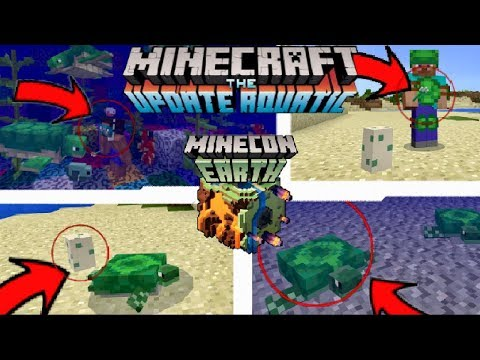 Minecraft PE 1.3!! THE AQUATIC UPDATE!! OUT NOW!