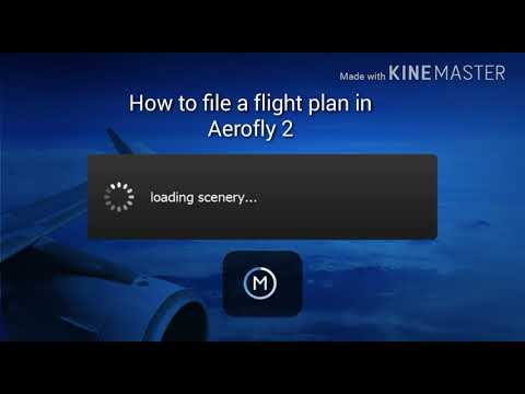 How to find a flight plan in aerofly 2