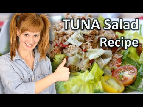TUNA salad recipe - Vegetable salad recipes