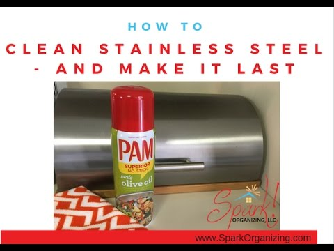 How to Clean Stainless Steel and Keep it Smudge-Free, Kitchen, Appliances, Organizing