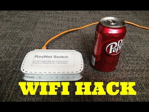 Improve and Strengthen WIFI Speed With a Soda Can