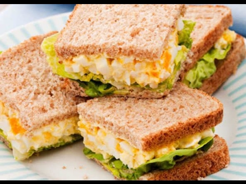 How To Make Egg Mayonnaise Sandwiches Easily
