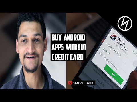 How to buy Apps from Google Playstore without Credit Card | CreatorShed