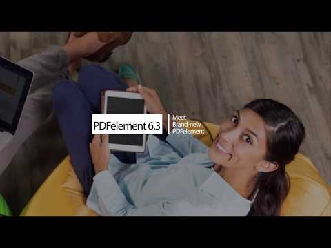 Meet Brand New PDFelement 6.3!