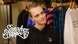 Download Cara Delevingne Goes Sneaker Shopping With Complex Video