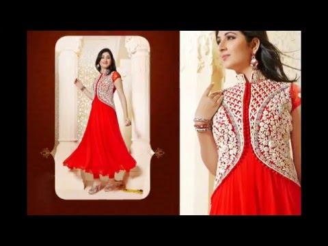 Latest Design of Beautiful Anarkali Salwar Suit | Salwar Kameez |