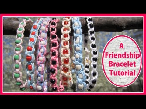 How To Make A Friendship Bracelet - An Easy Kids Craft!