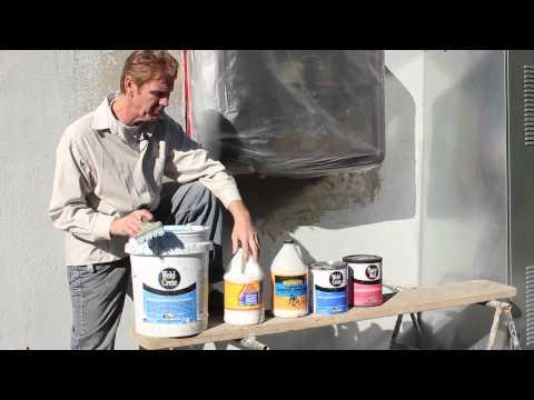 Bonding Agent's for Concrete Stucco Plaster walls  liquid lath