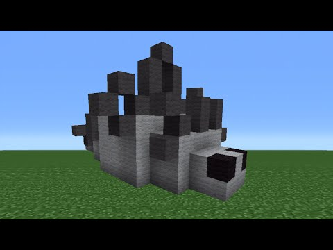 Minecraft Tutorial: How To Make A Silverfish Statue
