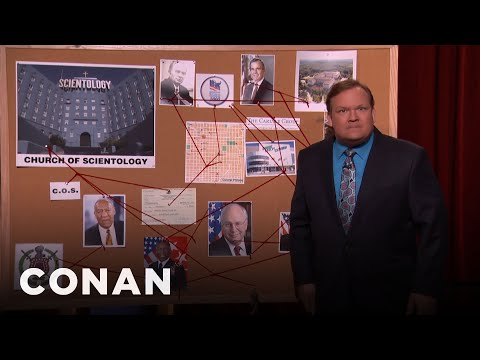 Andy Richter's Conspiracy Theory Yarn  - CONAN on TBS