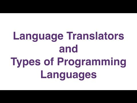 Program Translators and the Types of Programming Languages
