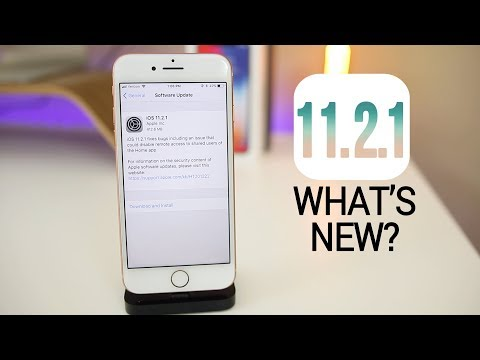 iOS 11.2.1 Released - What's New?
