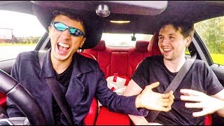 YOUTUBERS TEACH ME TO DRIVE ft. CHIP