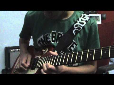 Queen - Bohemian Rhapsody Guitar Solo Cover