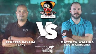 2020-2021 8-Ball Classic - Purple Tier Finals - APA Poolplayer Championships