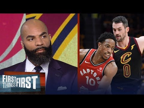 Carlos Boozer's takeaways from the Cavaliers sweeping the Raptors   NBA   FIRST THINGS FIRST