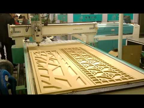 4X8 CNC Router Machine For Wood Cabinet