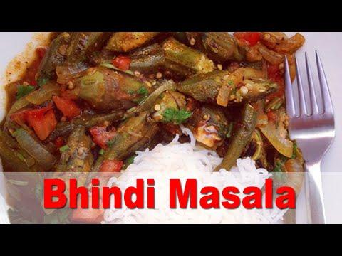 Authentic Indian Bhindi Masala (Spicy Okra) Oil-Free Vegan Recipe