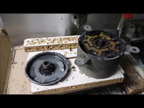 berlingo radiator fan bearing repair