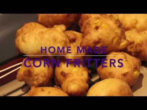 FRITTERS/  ALL AROUND BEST CORN FRITTER RECIPE/CHERYLS HOME COOKING/EPISODE 372