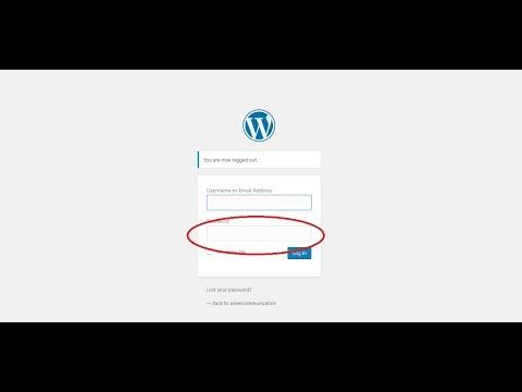 How to reset wordpress admin panel password easily