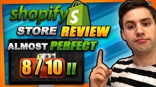 Shopify Store Review - The ALMOST Perfect Store - 8/10