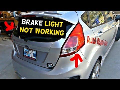 FORD FIESTA BRAKE LIGHTS NOT WORKING MK7 ST