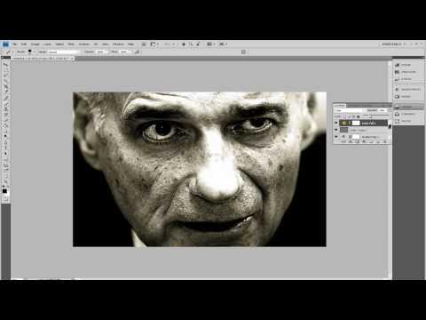 (Adobe Photoshop CS4) [Tutorial] Dynamic Black And White Photo Edit
