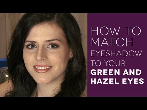 Eye Makeup Tutorial for Green and Hazel Eyes