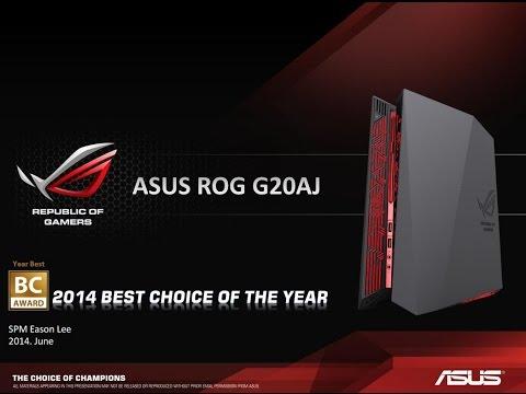 ASUS ROG G20 Desktop Review by Merlini