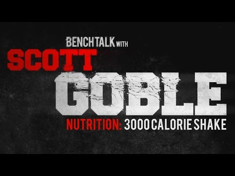Bench Talk |  The 3000 Calorie Shake