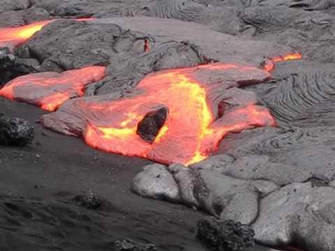 kilauea Lava Flow May 7, 2010
