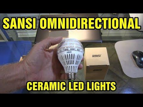 Sansi 27watt Omnidirectional led ceramic light bulbs review