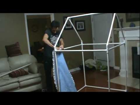 How to build an indoor playhouse or fort