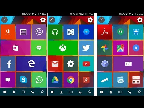 Windows 10 launcher for android - Free Download Windows 10 apk file - 100% working