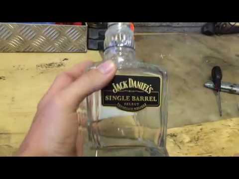 Jack Daniel's fridge Magnet from Single barrel cork