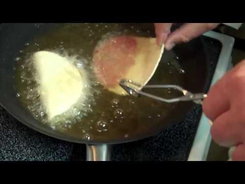 Fried tacos!
