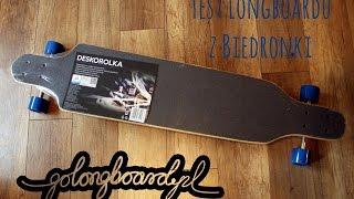 Test taniego longboardu z Biedronki - portal golongboard.pl