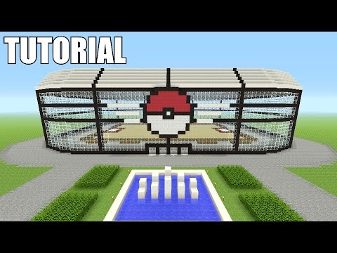 Minecraft Tutorial: How To Make A Pokemon Stadium / GYM!! (Pokemon Go)