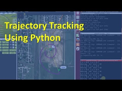 Drone Trajectory Tracking with Python