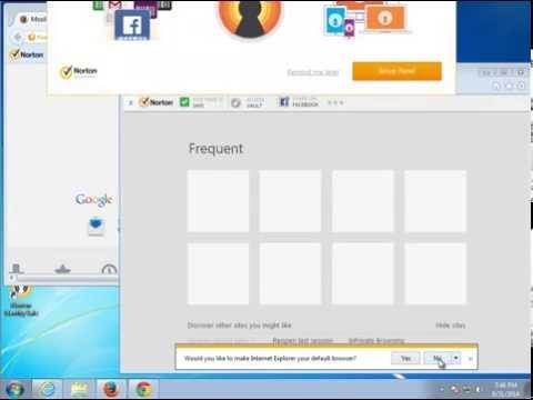 Remove Norton Security Toolbar 2014